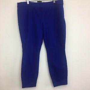 NWT J Crew Byzantine Blue Minnie Twill Pants